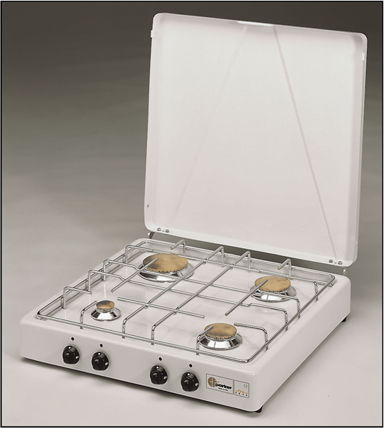 Afbeelding van PARKER 4 BURNER COOKER WITH SAFETY DEVICE