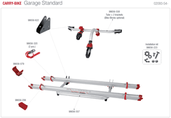Afbeelding voor categorie Carry-bike Garage Standard 02093-54-