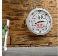Afbeelding van BIG GREEN EGG WALL CLOCK