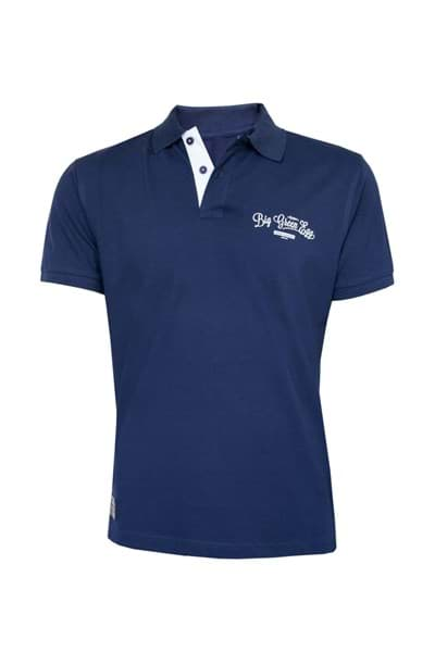 Afbeelding van BIG GREEN EGG POLOSHIRT BLUE - LARGE